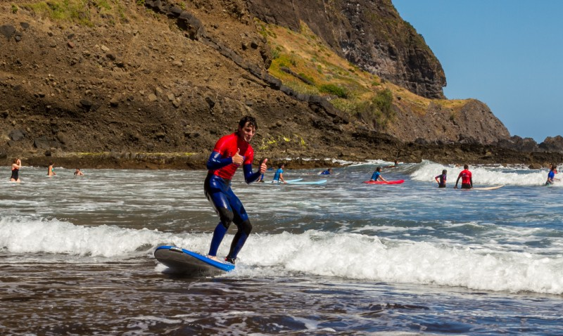 Individual (Privat) Surf Lessons - Madeira