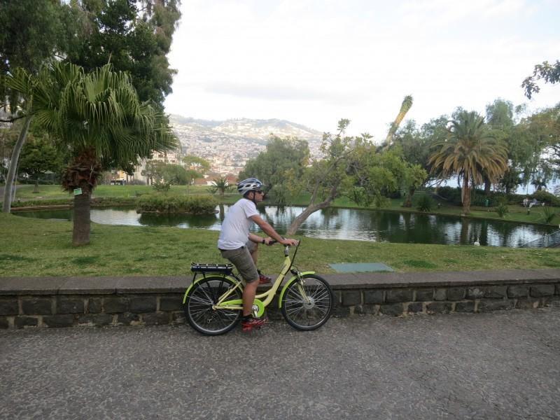 Passeio de bicicleta  Funchal - Câmara de Lobos
