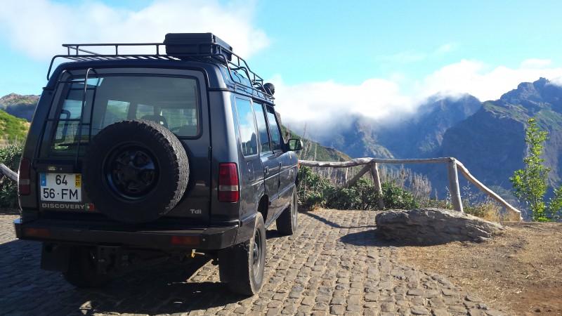 Jeep Safari Meio-dia Jardim da Serra