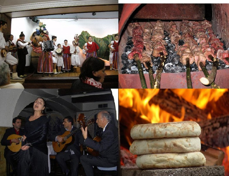 Madeiran Traditional Dinner - Folklore and Fado