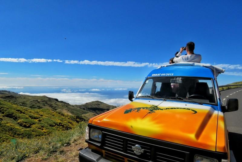 Curral das Freiras e Pico Areeiro - manhã