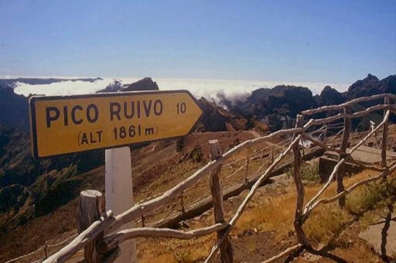 Levada Pico Ruivo
